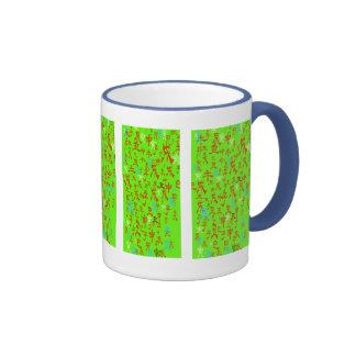 Japanese style letter mug