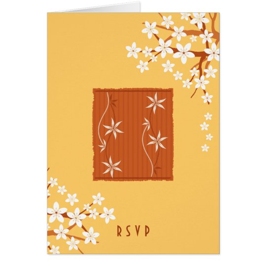 Japanese Style Ornament Gifts Card