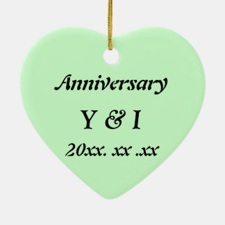 Japanese-style Shippo Green Anniversary ornament