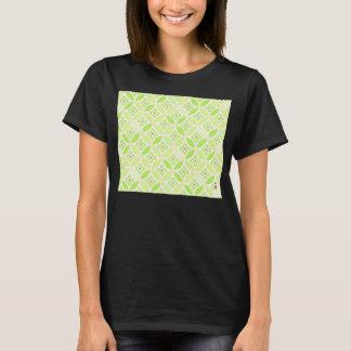 "Japanese-style Shippo Green ""Be Happy!"" T shirt"
