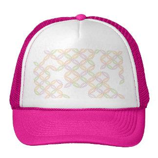 Japanese-style Shippo Pattern cap Trucker Hat