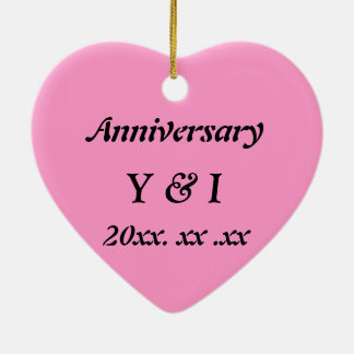 Japanese-style Shippo Pink Anniversary ornament