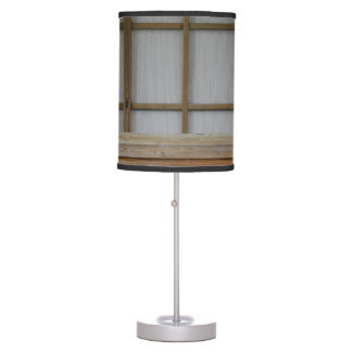 Japanese style tea house bench table lamp