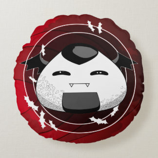 Japanese style Vampire Round Pillow