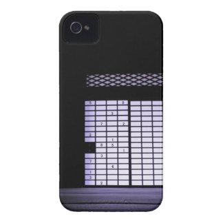 Japanese Sudoku Paper Window Case-Mate iPhone 4 Case