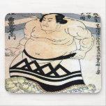 Japanese sumo-wrestler mouse mat
