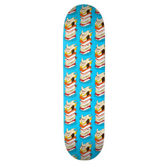 Japanese sushi night for the cute French Bulldog Skateboard Deck