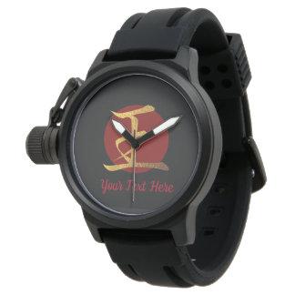 Japanese Symbol: King Personalized Watch