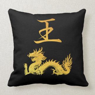 Japanese Symbol: King Throw Pillow