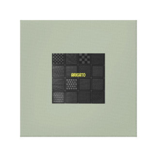 japanese TATAMI Canvas Print
