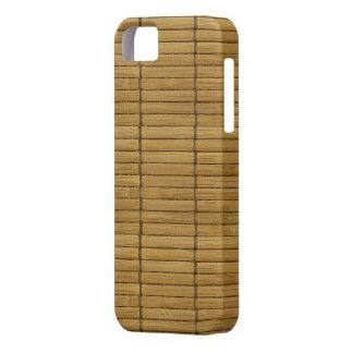 Japanese Tatami Mat, Bamboo Planks - Brown iPhone SE/5/5s Case
