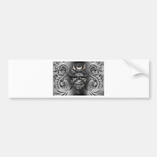 japanese tattoo etiqueta de parachoque
