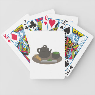 Japanese Tea Ceremony Bicycle Playing Cards