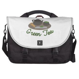 Japanese Tea Ceremony Gree Laptop Commuter Bag