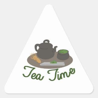 Japanese Tea Ceremony Tea Triangle Sticker