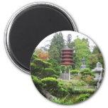 Japanese Tea Garden 2 Inch Round Magnet