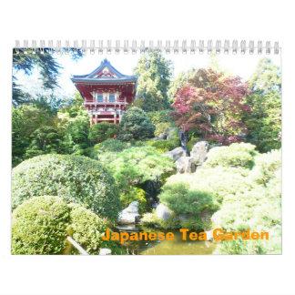 Japanese Tea Garden Calendar