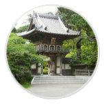 Japanese Tea Garden Ceramic Knob