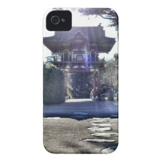 Japanese Tea Garden Gateway iPhone 4 Case-Mate Case