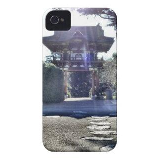 Japanese Tea Garden Gateway iPhone 4 Case-Mate Case