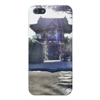 Japanese Tea Garden Gateway iPhone SE/5/5s Case