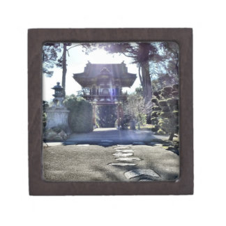 Japanese Tea Garden Gateway Keepsake Box