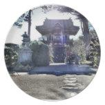 Japanese Tea Garden Gateway Party Plates