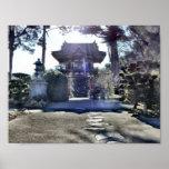 Japanese Tea Garden Gateway Print
