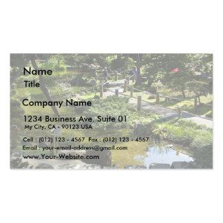 Japanese Tea Garden In Golden Gate Park Business Card Templates