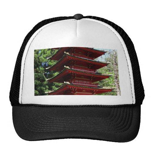Japanese Tea Garden In Golden Gate Park In San Fra Trucker Hat