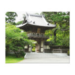 Japanese Tea Garden in San Francisco Canvas Print