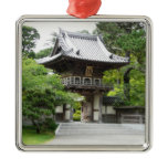 Japanese Tea Garden in San Francisco Metal Ornament