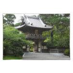 Japanese Tea Garden in San Francisco Photography Cloth Placemat