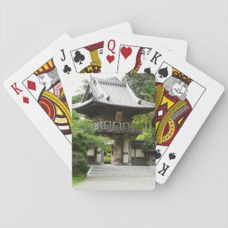 Japanese Tea Garden in San Francisco Playing Cards
