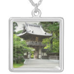 Japanese Tea Garden in San Francisco Silver Plated Necklace