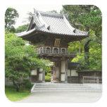 Japanese Tea Garden in San Francisco Square Sticker