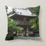 Japanese Tea Garden in San Francisco Throw Pillow
