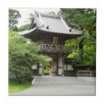Japanese Tea Garden in San Francisco Tile
