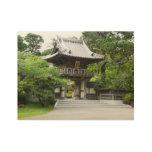 Japanese Tea Garden in San Francisco Wood Poster
