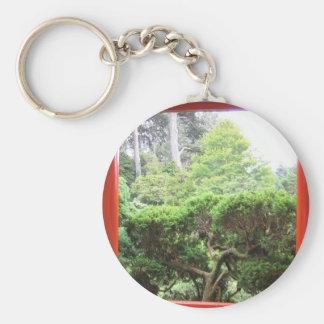 Japanese Tea Garden Keychain