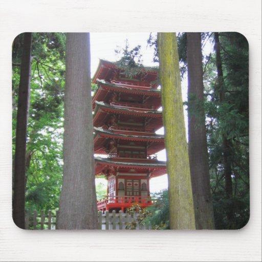 Japanese Tea Garden Mouse Pad
