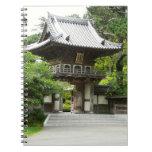 Japanese Tea Garden Notebook