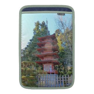Japanese Tea Garden Pagoda MacBook Air Sleeve