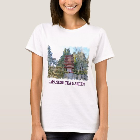 Japanese Tea Garden Pagoda T-Shirt