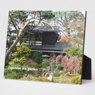 Japanese Tea Garden Plaques