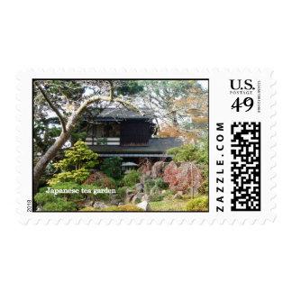 Japanese Tea Garden Postage