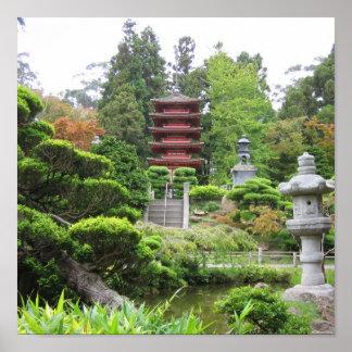 Japanese Tea Garden Print