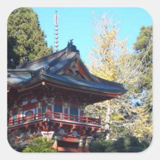 Japanese Tea Garden- San Francisco Square Sticker