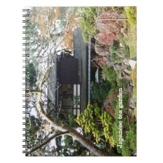 Japanese Tea Garden Spiral Notebooks