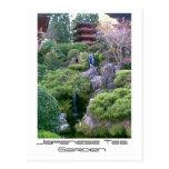 Japanese Tea Garden Waterfall Postcard